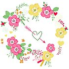 Floral wreath by yaskii