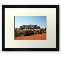 Uluru, Northern Territory Framed Print