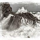Splash over granite by Adriano Carrideo