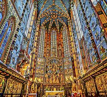Church of Our Lady Assumed into Heaven, St. Mary's Basilica, Kraków, Poland, 1347 by Wendy  Rauw