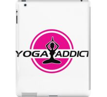 Yoga addict iPad Case/Skin