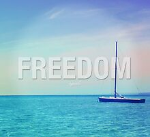 Freedom Inspirational Photo Quote by CarbonClothing
