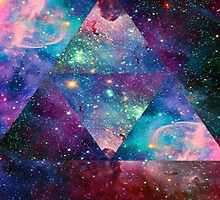 Hipster Galaxy Triangle by RoBoPaPeR