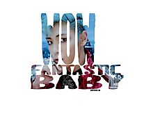 Wow Fantastic Baby Photographic Print