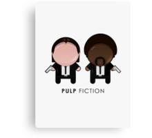 Pulp Fiction // Jules and Vincent Canvas Print