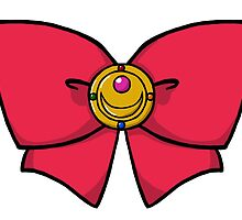 Sailor Moon's Bow & Brooch by Catmoor