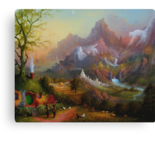 From The Shire To The Sea Canvas Print