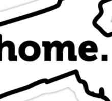 Massachusetts. Home. Sticker