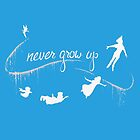 Peter Pan Never Grow Up by EAMS