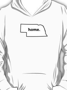 Nebraska. Home. T-Shirt