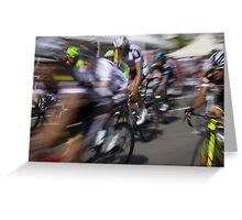 Bicycle race Greeting Card