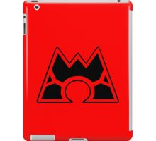 Team Magma (Style A) iPad Case/Skin