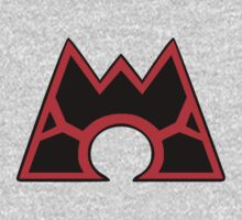 Team Magma (Style B) Kids Clothes