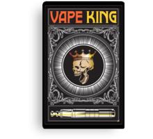 The Vape King Canvas Print