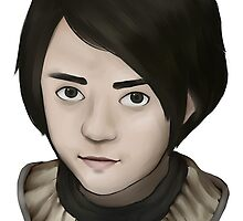 Arya Stark by tinysparkle