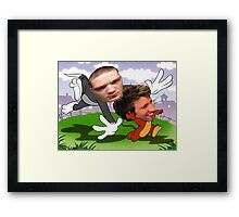 Michael and Gavin Framed Print