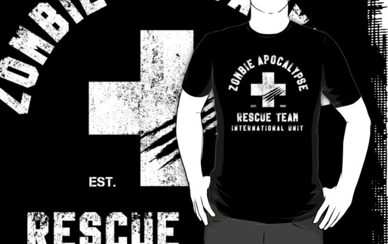 Zombie Apocalypse Rescue Team by hypetees