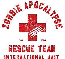 Zombie Apocalypse Rescue Team Photographic Print