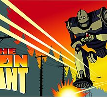 The Iron Giant by gamac74
