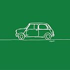 Mini Cooper - Single Line by douglaswood