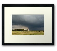 Approaching Thunderstorm Framed Print