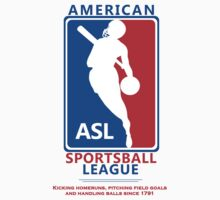 American Sportsball League by mistermunny