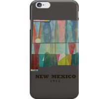 new mexico state map iPhone Case/Skin