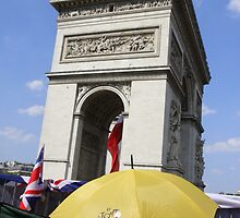 Arc de Triomphe 100th Tour De France by Alex Rentzis