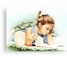 Sunshine Reader Canvas Print