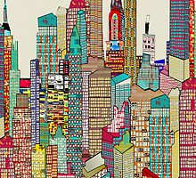 new york city skyline by bri-b