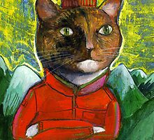 The Red Cat by David Barneda