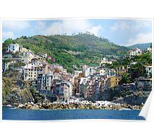 Cinque Terre : Riomaggiore Poster