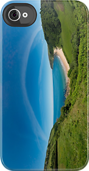 Kinnagoe Bay Panorama by George Row