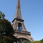 Eiffel Tower by Morag Anderson