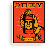 Obey Giant Canvas Print