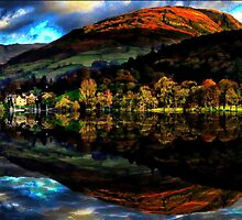 Dreaming About Autumn In Cumbria by Ian Mooney