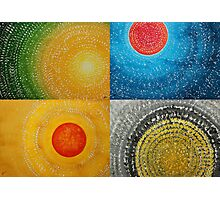 The Four Seasons collage Photographic Print