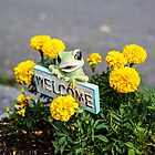 Welcome Frog by John Niehaus