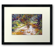 Hughes Creek, Avenel Framed Print