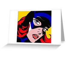 Girl Power: Batgirl Greeting Card