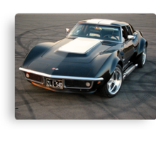 Shiny Vette Canvas Print