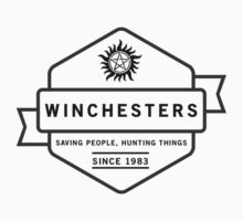 The Winchesters Vintage Logo 5 by hahahahaleigh