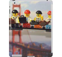 High-rise lunch break, Golden Gate Bridge iPad Case/Skin