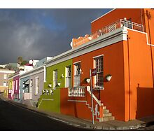 Bo-Kaap - Cape Town Malay District Photographic Print