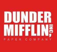 Dunder Mifflin Merchandise Kids Clothes