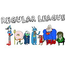 Regular League Photographic Print