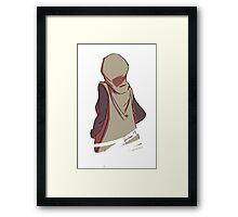 Miss Martian (Earth Sisters) Framed Print