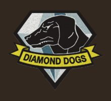 Metal Gear Solid V - Diamond Dogs Badge T-Shirt