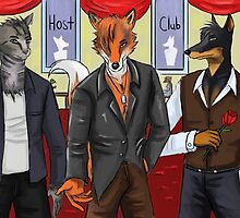 Anthro host club by Drawforever