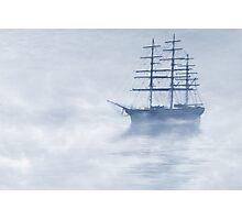 Morning Mists Cyanotype Photographic Print
